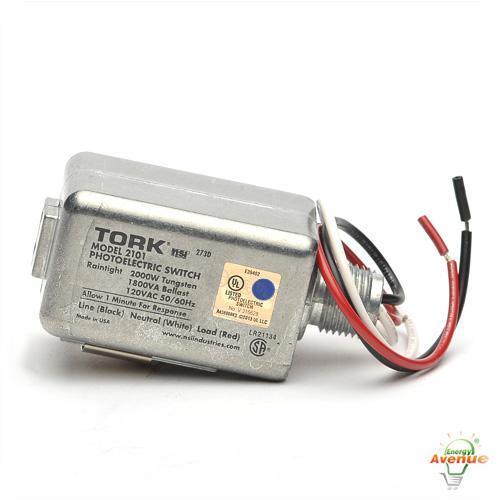 Tork 2101 Die Cast Zinc Photo Control 120 Volt 1  2 Inch